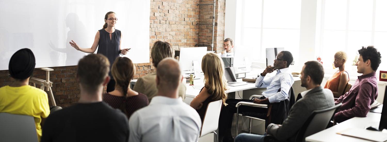 Business Team Discussing Training