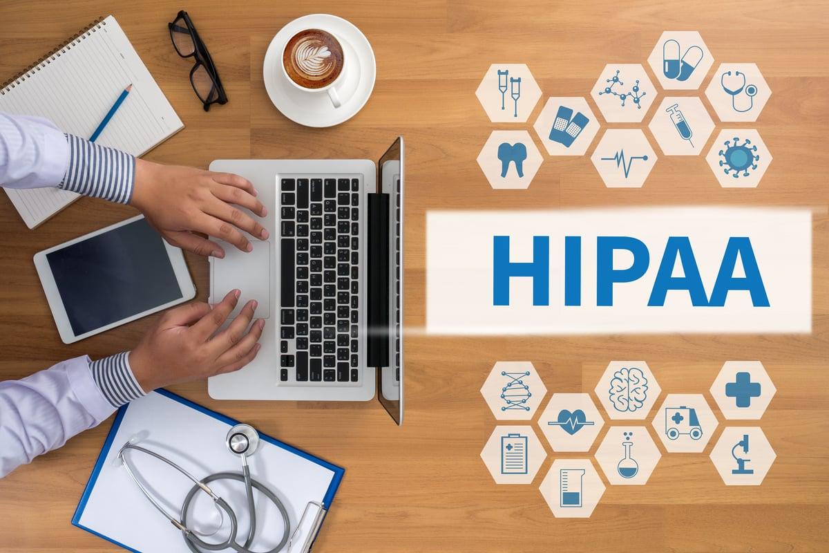 Computer with Windows 10 HIPAA Compliant