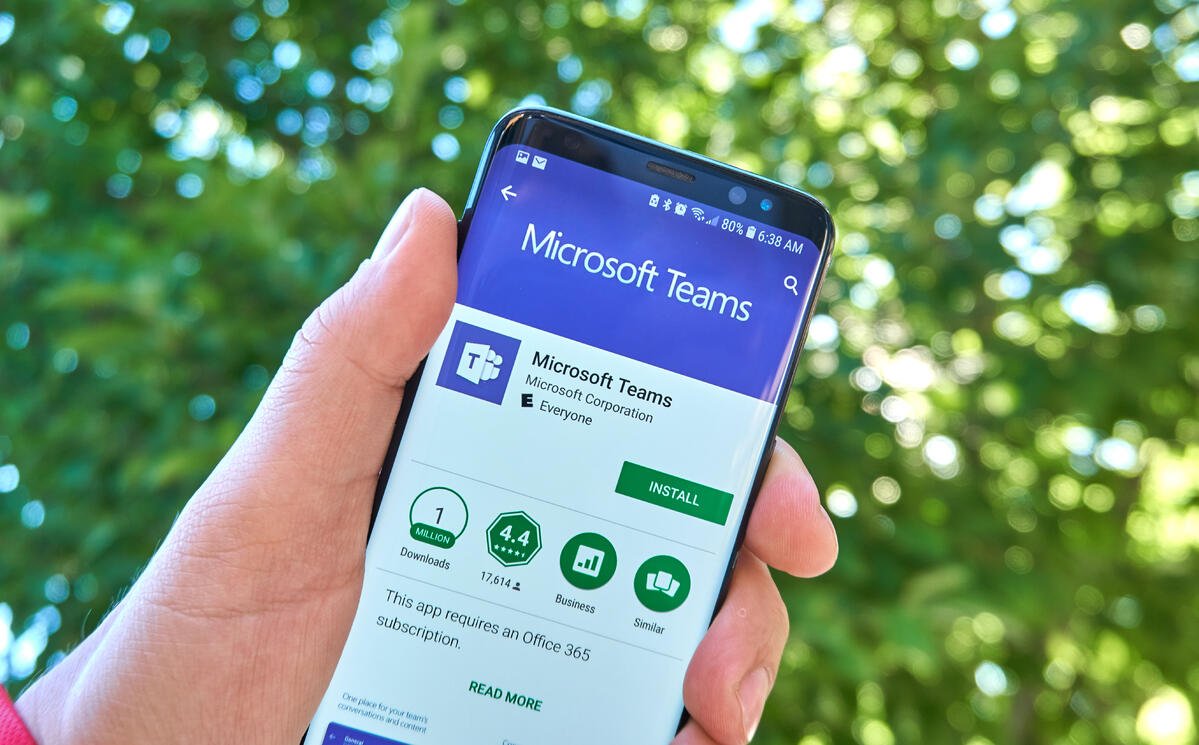 Microosft Teams Mobile App