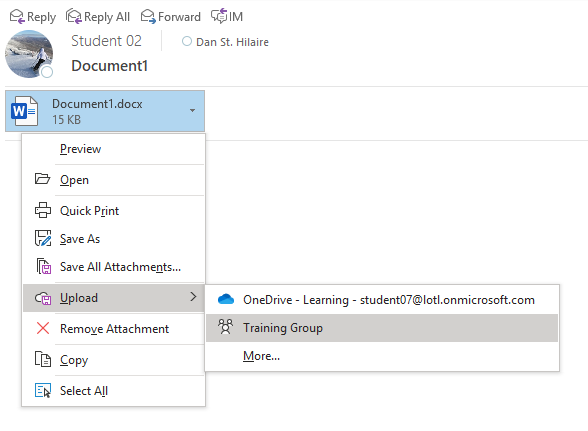 Upload Documents to Teams