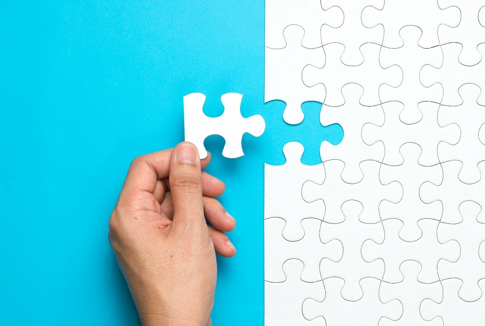 photo of puzzle piece