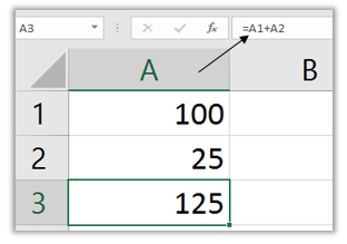 Screenshot of Excel's Formula Bar