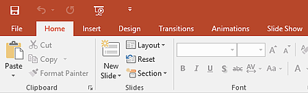 Colorful Microsoft Office Theme - PowerPoint
