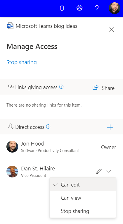 Managing File Access in Microsoft Teams