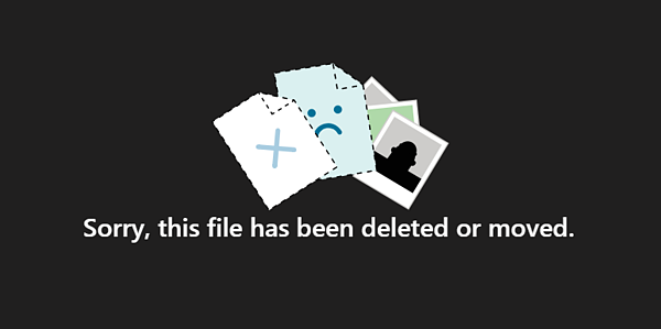 Missing or Deleted File Error Message in Microsoft Teams