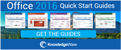 Get the Office 2016 Quick Start Guides
