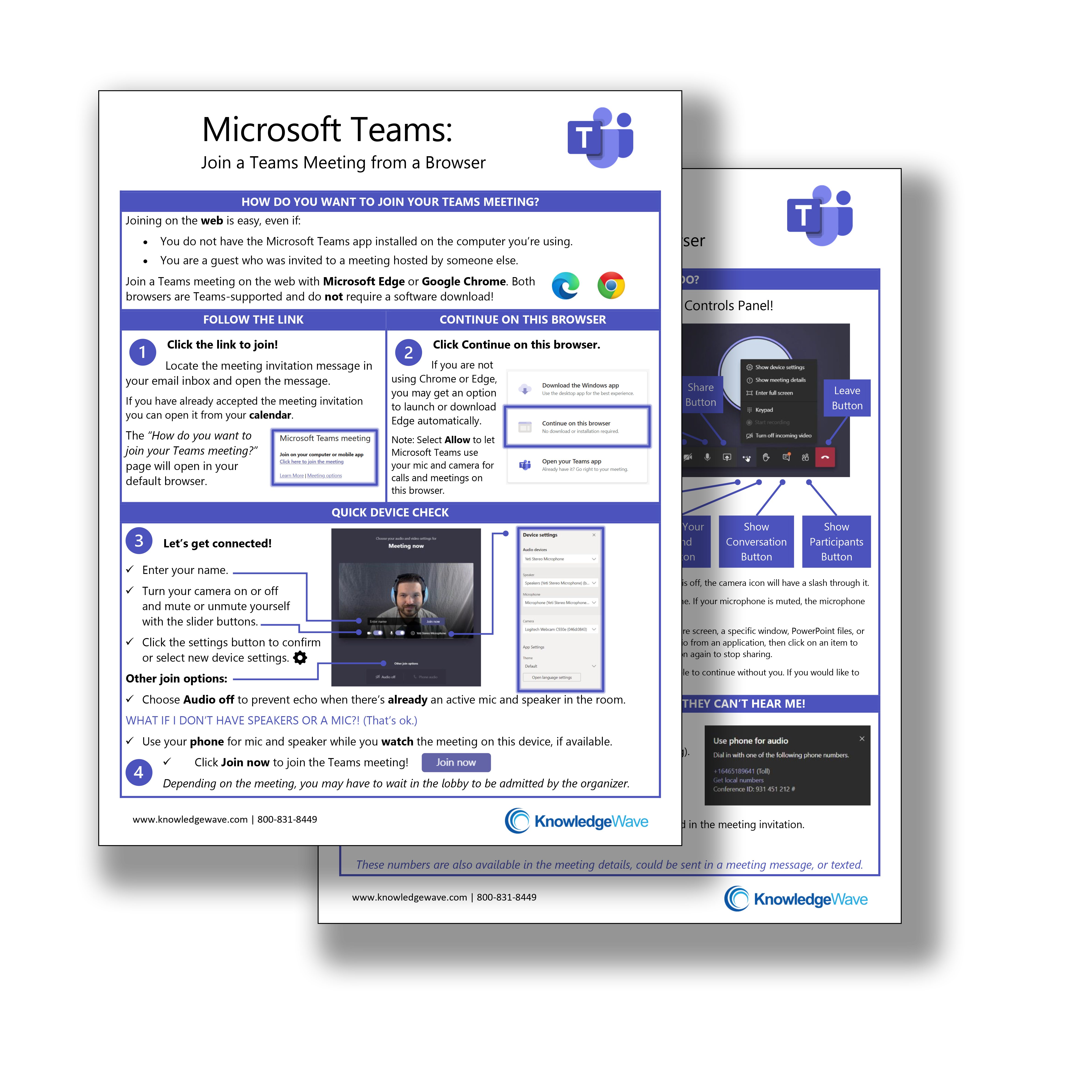 Teams from a Browser Guide image