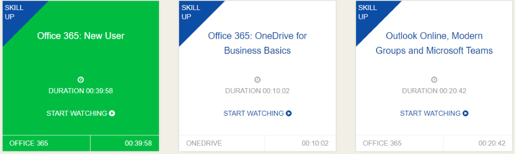 KnowledgeWave Learning Site Office 365 Training
