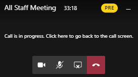 Event Status Window