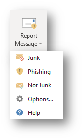Report Message Button