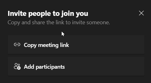 Microsoft Channel Meeting - Inviting people